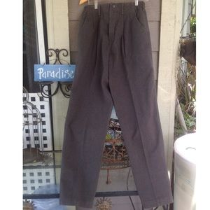 Vintage Lee wrinkle free high rise casual pants